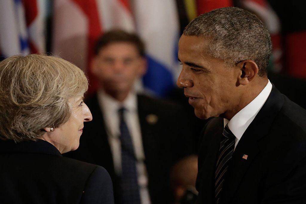 Mej i Obama