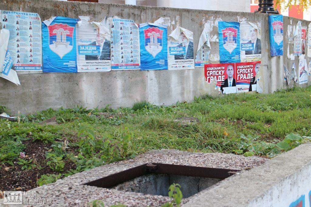 Gatačke ulice nakon izbora (FOTO: Moja Hercegovina)