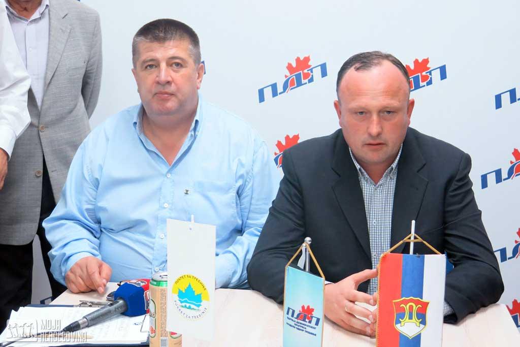 Slavko Vučurević i Vidomir Begenišić (Foto: Moja Hercegovina)