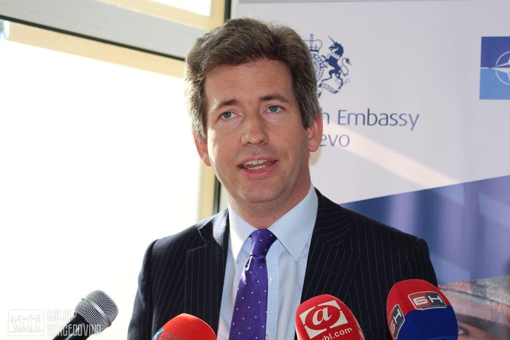 Britanski ambasador u BiH Edvard Ferguson (Foto: Moja Hercegovina)