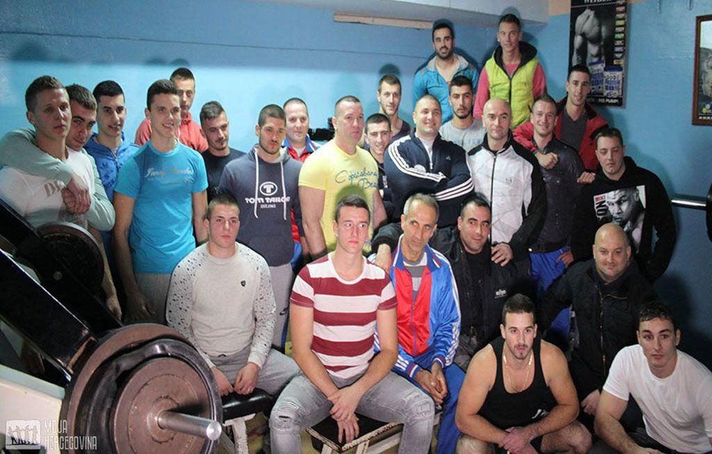 Takmičari i članovi Bodi-bilding kluba