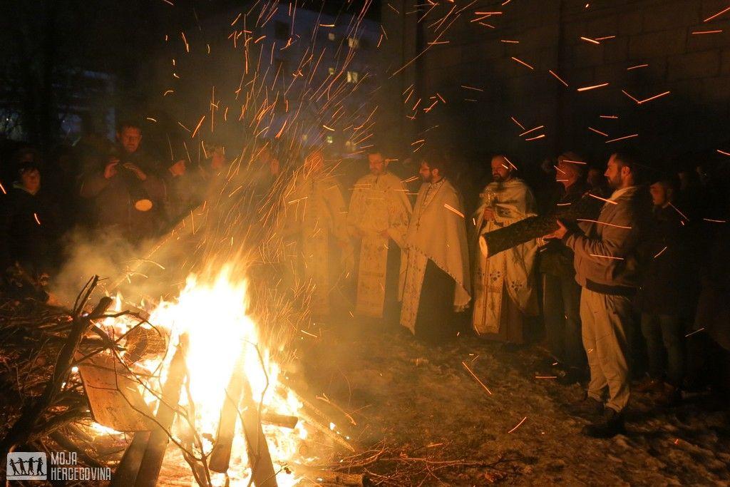 Badnje veče u Bileći