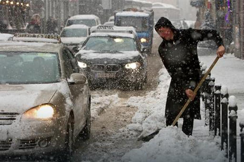 Čišćenje snijega u BiH