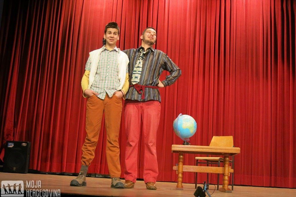 Stefan i Slobodan u jednoj od scena