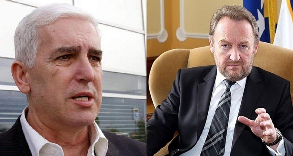 Sakib Softić i Bakir Izetbegović