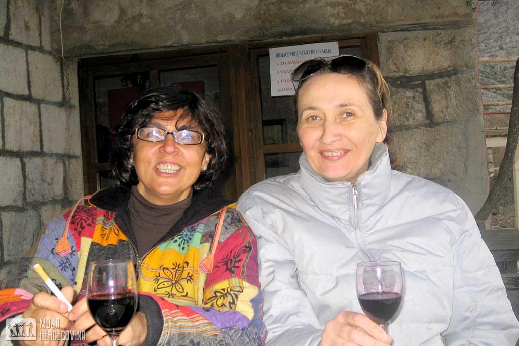 Gordana i ekolog Suzana Gomez