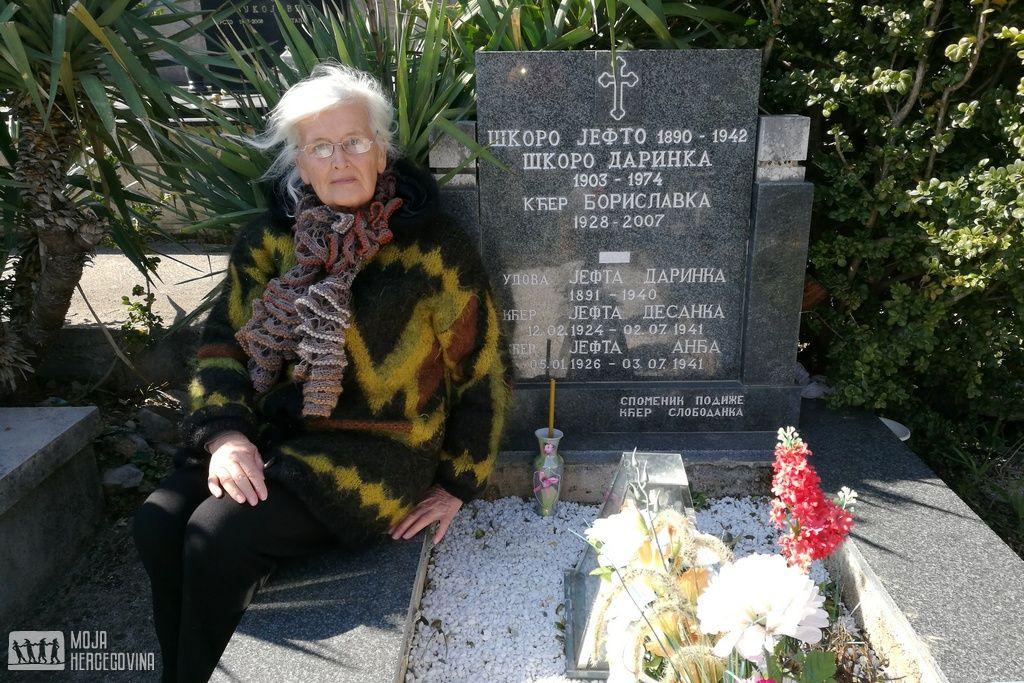 Slobodanka Tanović. ćerka Jefta Škora (FOTO: Moja Hercegovina)
