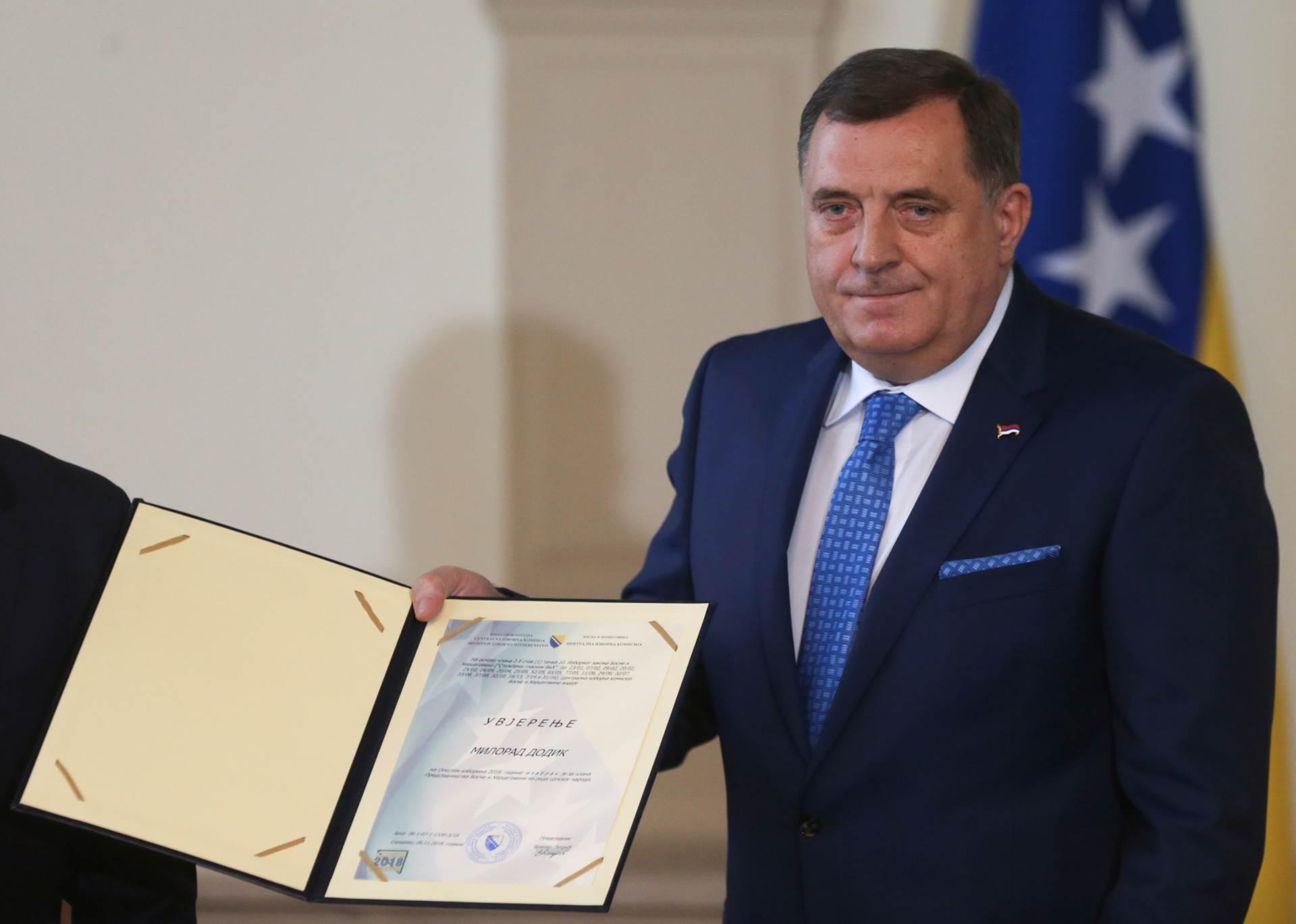 Dodik: Bošnjaci moraju da znaju da BiH nije njihova, a RS je isključivo naša